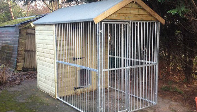 Insulated Dog Kennels And Runs Handmade Dog Kennels